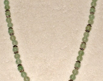 genuine Green Aventurine necklace