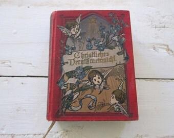 Christliches Dergikmeinnicht by Verlag Von Carl Hirsch, Tony Miniature Diary & Calendar, Unique Christmas Present Ideas, Birthday Gifts