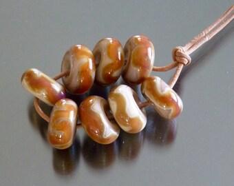 Handmade glass bead set