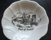 Rock of Cashel Royal Tara 4.50 inch plates pin dish RARE pattern Royal Tara Irish Bone China Shell Dish Made in Galway