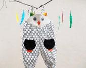 baby owl girls summer romper