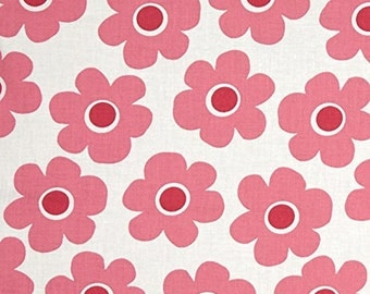 """108"""" WIDE Quilt Back Pink Remix Flower from Robert Kaufman's Remix Wide Collection By Ann Kelle"""