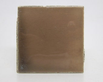 Light brown 3x3 square hearth tile set