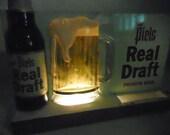 Vintage Piels Real Draft Beer Sign reserved for Barsky02