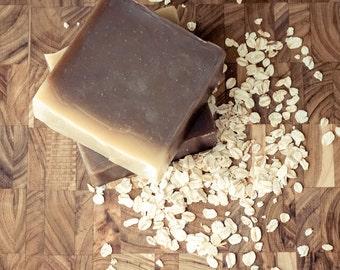 Oatmeal Stout Beer and Aloe Shampoo - Vegan Solid Shampoo - Natural Shampoo