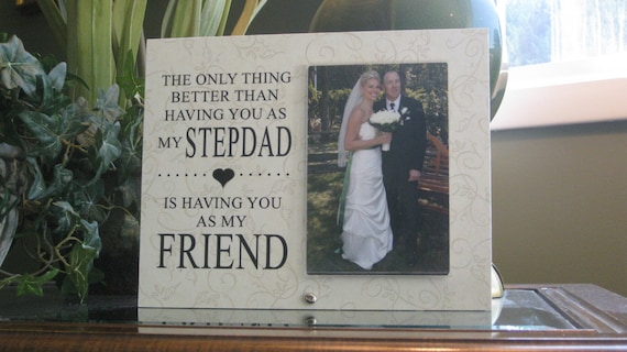 Wedding Gift For Step Dad : step father wedding gift, stepdad wedding frame, step dad wedding gift ...