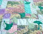 Calming Watercolors Lap Quilt