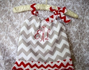 baby girl dress roll tide alabama gameday college colors girl dress baby gift girl dress