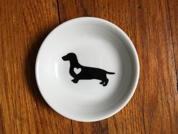 Dachshund | Ring Dish | Engagement Gift | Jewelry Dish | Wiener dog