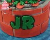 Ninja Turtles | Cake topper name