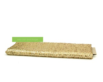 "GOLD Sequin Tablecloth - Rectangular Table Cover - 90"" x 132"""