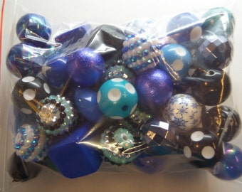 Destash, 18mm plus Beads, NOT Paired, 50 beads or more, NP50AB