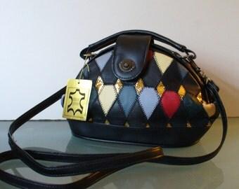 Vintage  Patchwork Leather Bag