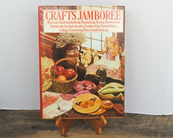 Vintage Crafts Jamboree 1977 Variety of Craft Projects Book