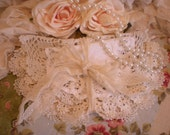 SALE...Vintage Shabby Chic Doilies Set Of Six Home Decor Linens OOAK From SincerelyRaven On Etsy