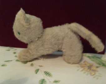 Small Hard Stuffed Kitten Brought from Germany