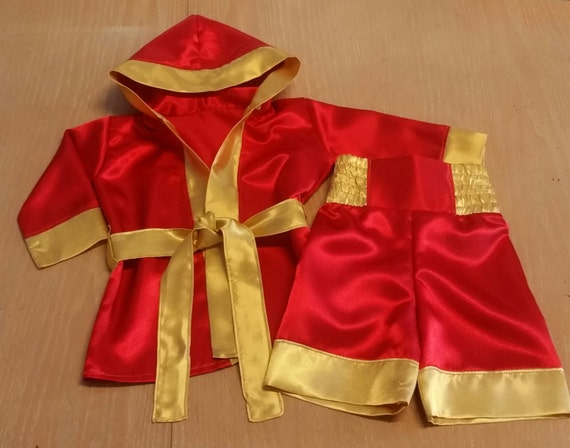 Boxer Fighter Robe Boxer costume little f...
