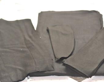 Black Spandex Jersey Knit