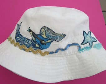 Under the sea toddler sun hat