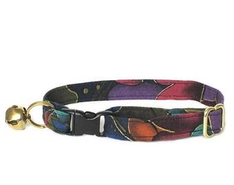 Twilight Garden adjustable breakaway cat collar