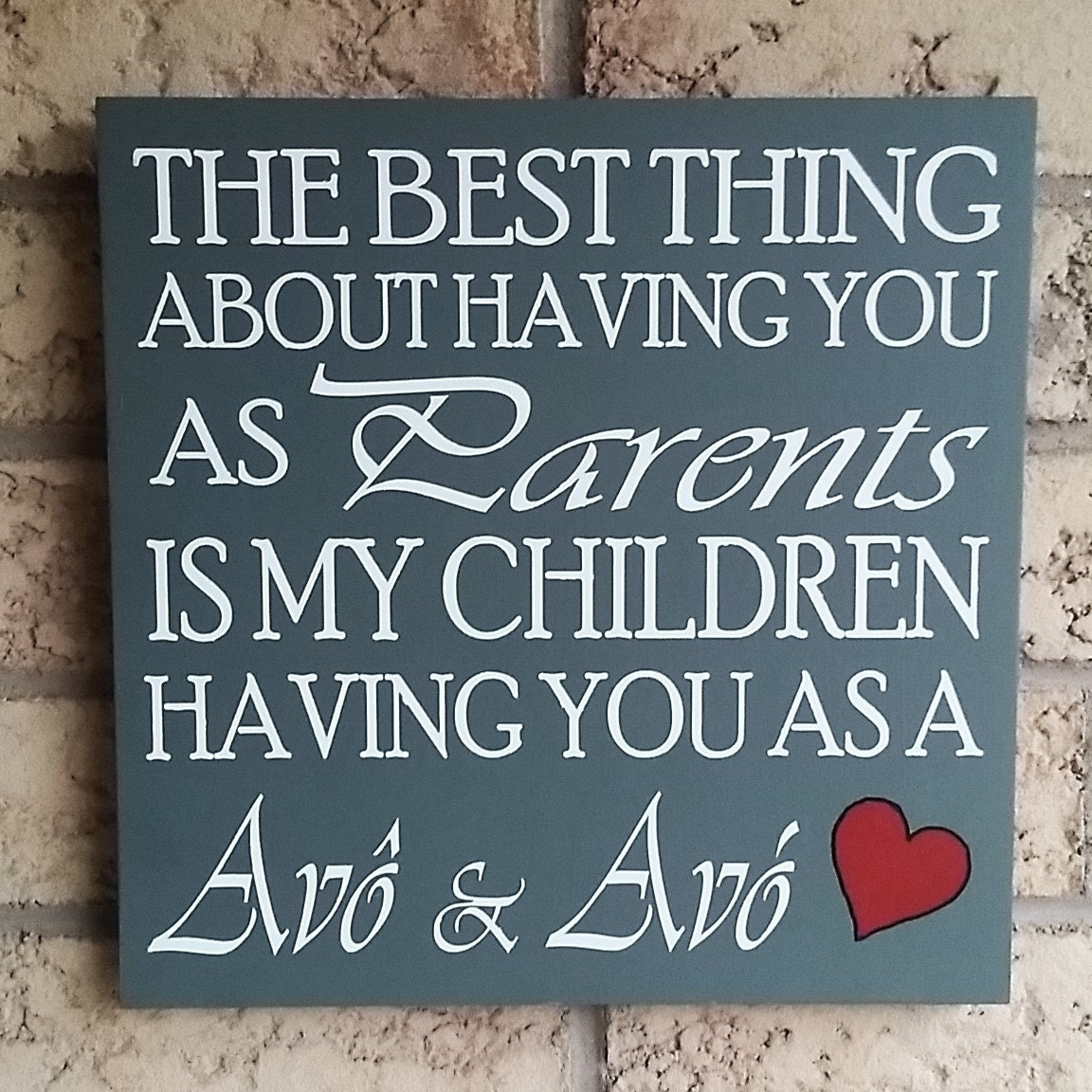 Custom Wooden Signs Wall Decor Personalized Grandmother Gifts