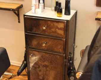 Styling Station Cabinet, Salon Cabinet, Salon Furniture, Styling Station