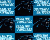 Carolina Panthers Large Double Fleece Blanket
