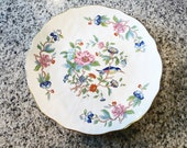 "Reserved for Tiffany Vintage Aynsley Pembroke 10 1/2"" Desert or Cake Plate, Serving Plate on Etsy by FUNNYFARMS"