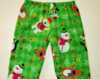 Childrens Christmas Pajama Pants, Kids Matching Pajama Pants, Toddler Pj Pants, Holiday Pajamas, Baby Pj Pants, Pajama Bottoms Made To Order
