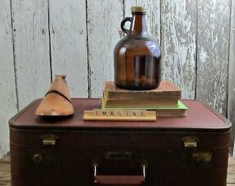 Vintage Brown Luggage