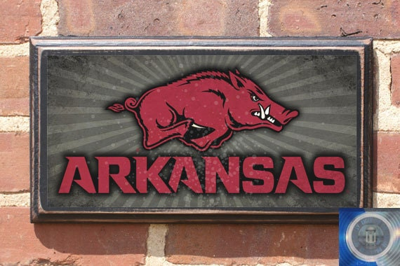 Arkansas Razorbacks Athletics Wall Art Sign Plaque Gift Home Decorators Catalog Best Ideas of Home Decor and Design [homedecoratorscatalog.us]