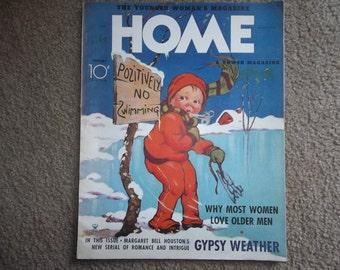 "Antique The Younger Womans Magazine""Home"" 1935...Ephemera...Advertising...Historic"