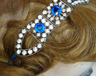 1920s Art Deco Rhinestone Headband