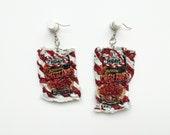 Magically Mini TGI Fridays Pepper Jack Cheese Fries Bag Earrings