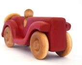 Wooden Car Toy - Pick Any Color - Personalized Toy Car