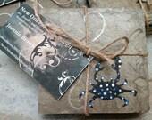 Blue Crab Slate Coasters