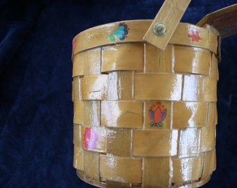 Vintage Picnic Basket Purse from Fairmont Basket Works