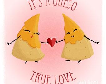 """Cheesy Valentine """"Queso True Love"""""""