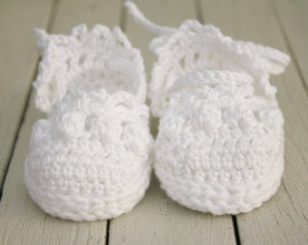 Baby Girl Sandals - Espadrille Sandals - Newborn Gift - Crochet Baby Shoes - Crib Shoes - Pram Shoes - UK Seller - MADE to ORDER