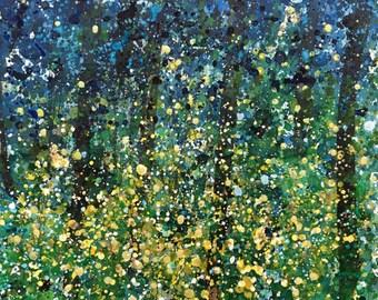 Fireflies at Dusk