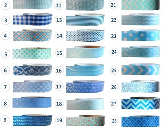 Washi Tape - BLUE Collection