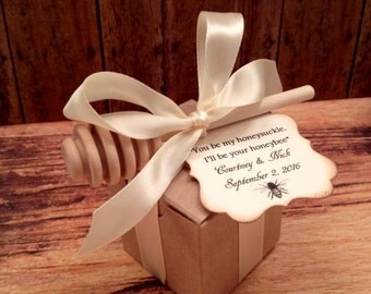 50 Qty Meant To Bee Honey Wedding Shower Favors, Baby Shower Favors, Bridal Shower Favors