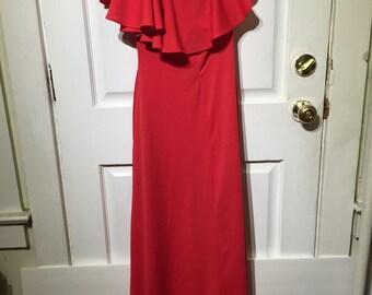 Vintage one armed dress