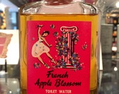 French Apple Blossom by Lander 3 oz Splash Toilette Water •   Vintage perfume