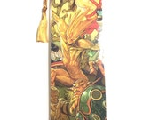 Upcycled Groot Comic Book Bookmark