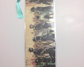Upcycled DC Comic Book Bookmark