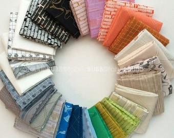 Carkai Fat Quarter Bundle by Carolyn Friedlander for Robert Kaufman Fabrics, COMPLETE