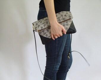 Crossbody Clutch with Pockets