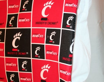 University of Cinci Zipper Cover