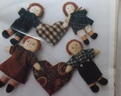 Osage County Quilt Factory Mini- Raggedys Doll Sewing Pattern